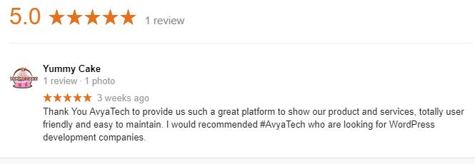 Testimonial SEO- Avyatech2