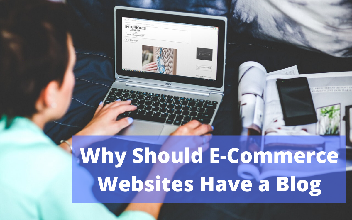 importance of blog for ecommerce website