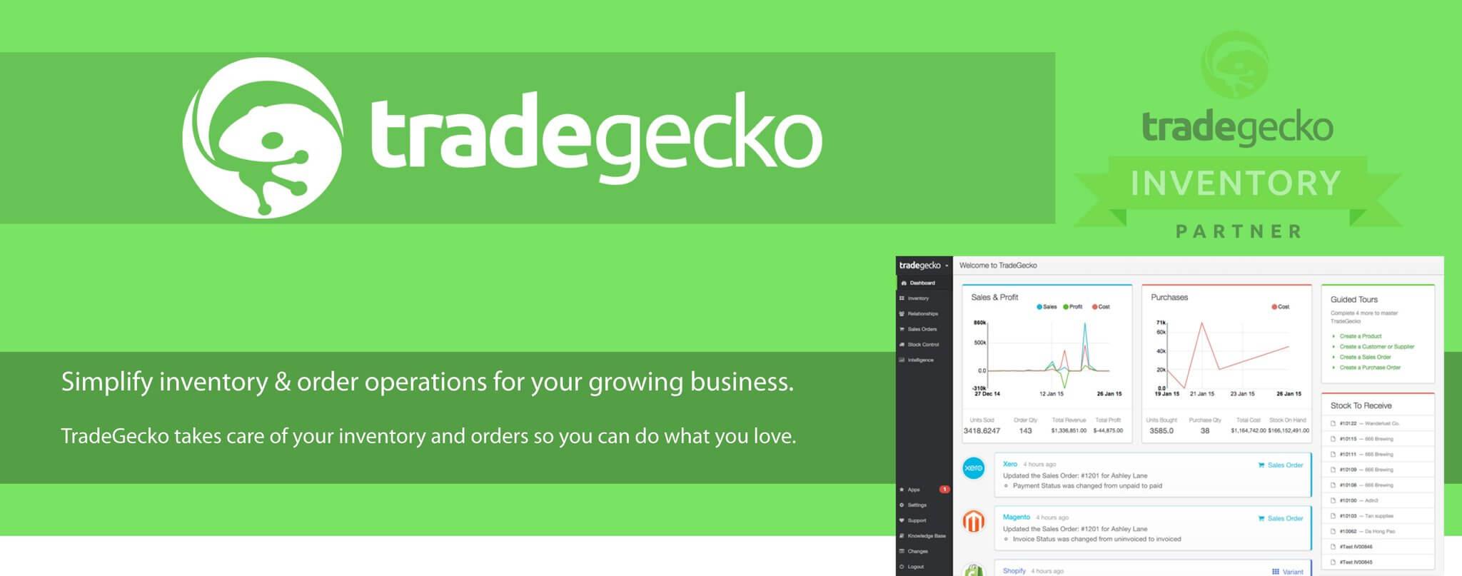 TradeGecko - Stock management plugin
