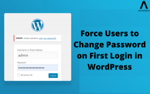 Force users to change password on first login in WordPress