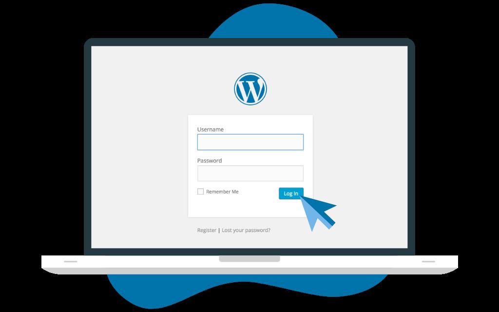 change password in wordpress first login