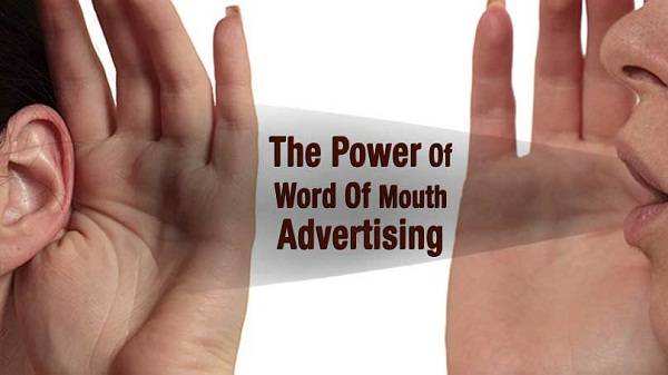 Power of Word of mouth