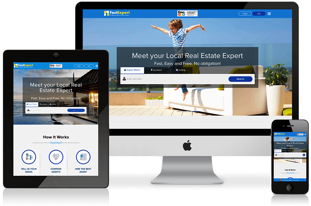 FastExpert real estate website