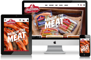 Hofmann Sausage Website Design