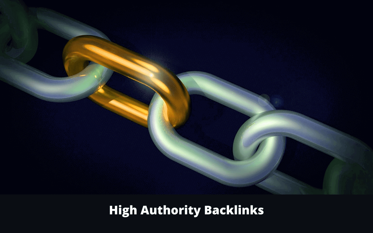 create high authority backlinks