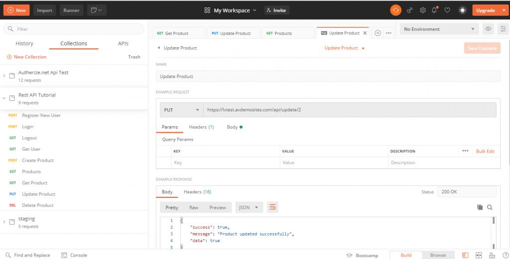 REST API with Laravel 8