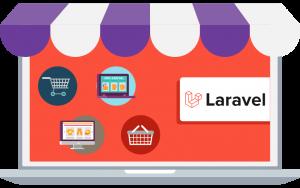 laravel for ecommerce website