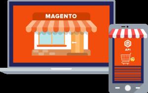 Connect Magento Store through API for Mobile App